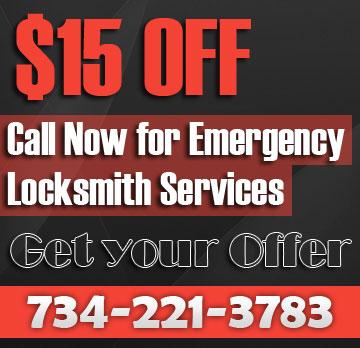 Ann Arbor Locksmiths MI Coupon